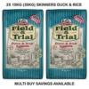 Skinner's Field and Trial Duck and Rice 2 x 15KG (30KG) FREE NEXT DAY DELIVERY